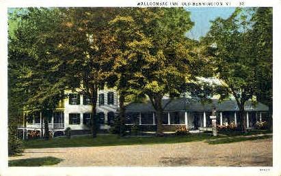 Walloomsac Inn - Bennington, Vermont VT Postcard