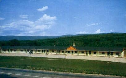Peaceful Valley Motel - Bennington, Vermont VT Postcard
