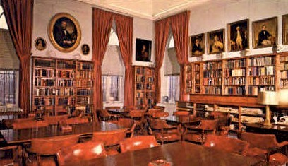 Genealogical & Research Library - Bennington, Vermont VT Postcard