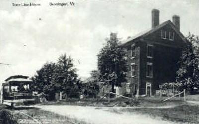 Reproduction - State Line House - Bennington, Vermont VT Postcard
