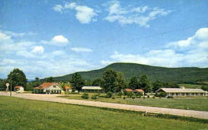 Vermonter - Bennington Postcard