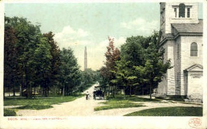 Street View - Bennington, Vermont VT Postcard