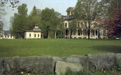 McCullough House - Bennington, Vermont VT Postcard