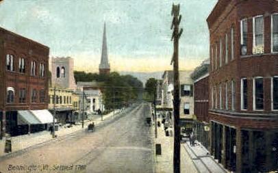 Settled In 1761 - Bennington, Vermont VT Postcard
