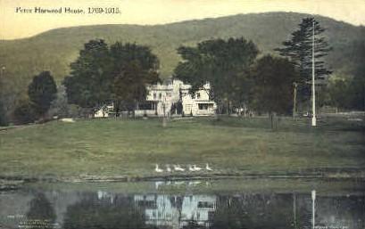 Peter Harwood House - Bennington, Vermont VT Postcard