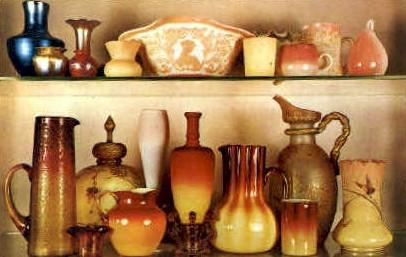 American Glass Collection - Bennington, Vermont VT Postcard