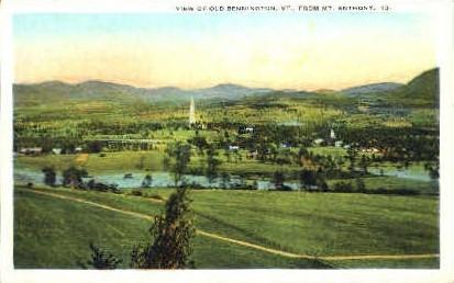 Mount Anthony - Bennington, Vermont VT Postcard
