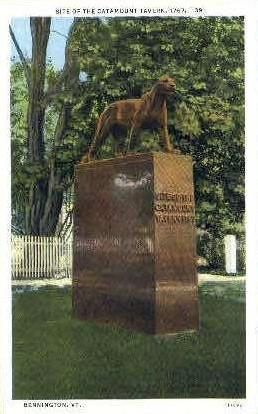Catamount Monument - Bennington, Vermont VT Postcard