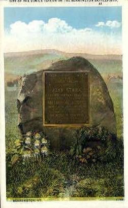 Dimick Tavern - Bennington, Vermont VT Postcard