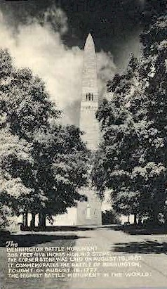Battle Monument - Bennington, Vermont VT Postcard