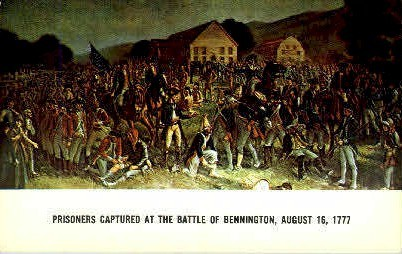 Battle of Bennington - Vermont VT Postcard