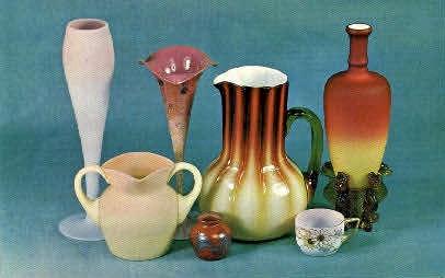 American Art Glass Collection - Bennington, Vermont VT Postcard