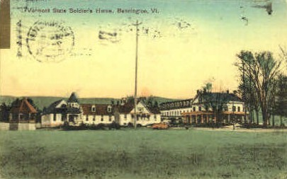 Soldiers Home - Bennington, Vermont VT Postcard