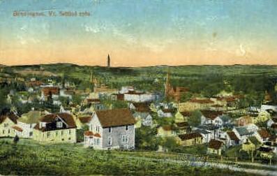 Settled In - Bennington, Vermont VT Postcard