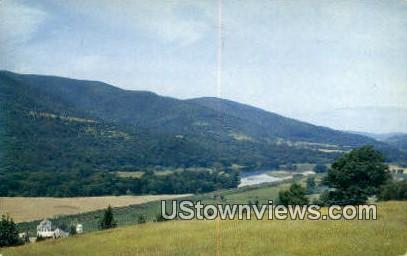 Pownal Valley - Bennington, Vermont VT Postcard