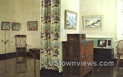 Grandma Moses Gallery - Bennington, Vermont VT Postcard