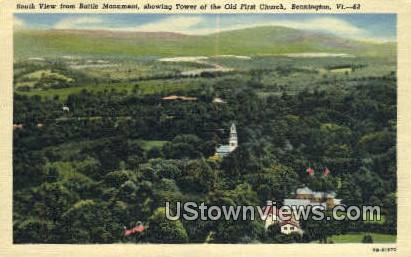 Battle Monument - Bennington, Vermont VT Postcard