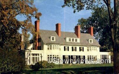 Four Chimney's Luncheon - Old Bennington, Vermont VT Postcard