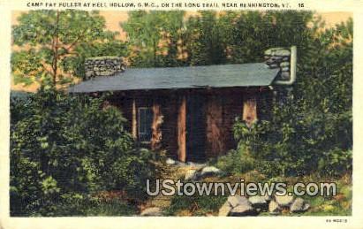 Camp Fay Fuller, Hell Hollow - Bennington, Vermont VT Postcard