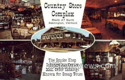 Country Store Complex - Bennington, Vermont VT Postcard