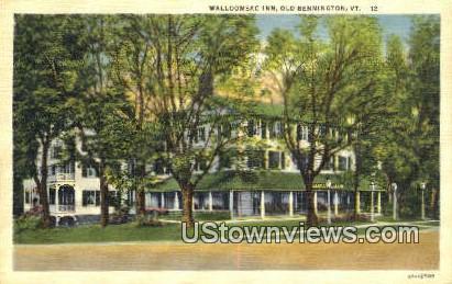 Walloomsac Inn - Old Bennington, Vermont VT Postcard