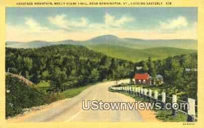 Haystack Mountain - Bennington, Vermont VT Postcard