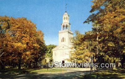 Old First Church of Bennington - Vermont VT Postcard