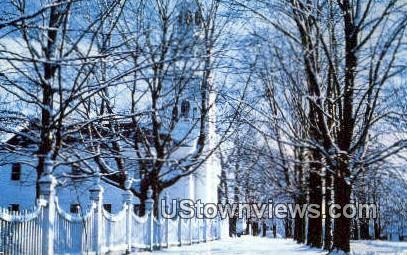 Old First Church of Bennington - Vermont VT Postcard