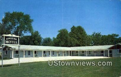 Kirkside Motel - Bennington, Vermont VT Postcard