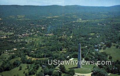 Bennington Battle Monument - Old Bennington, Vermont VT Postcard