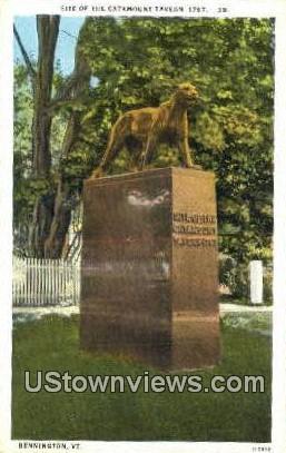 Catamount Tavern 1767 - Bennington, Vermont VT Postcard