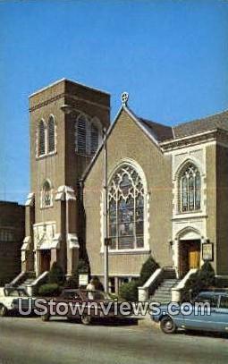 Methodist Church - Bennington, Vermont VT Postcard
