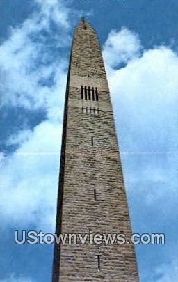 Bennington Battle Monument - Vermont VT Postcard