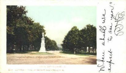 Main Street - Brandon, Vermont VT Postcard