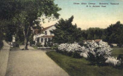 Ethan Allen Camps - Brandon, Vermont VT Postcard