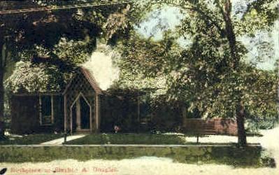 Stephen A. Douglas - Brandon, Vermont VT Postcard