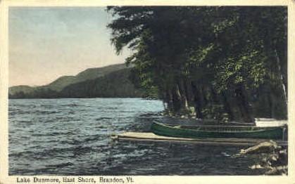 Lake Dunmore - Brandon, Vermont VT Postcard