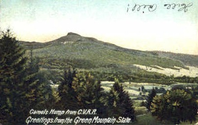Camels Hump - Brandon, Vermont VT Postcard