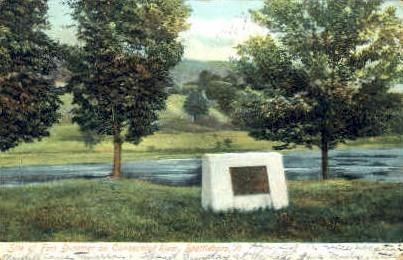 Fort Dummer - Brattleboro, Vermont VT Postcard