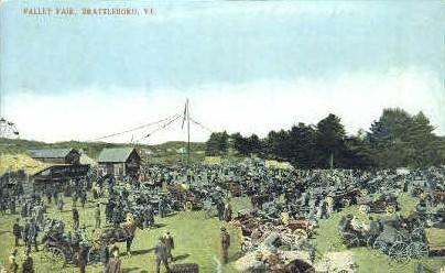 Valley Fair - Brattleboro, Vermont VT Postcard