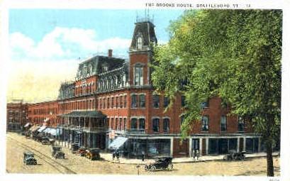 Brooks House - Brattleboro, Vermont VT Postcard