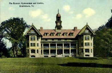 The Retreat - Brattleboro, Vermont VT Postcard