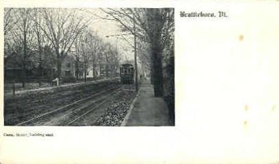 Canal St. - Brattleboro, Vermont VT Postcard