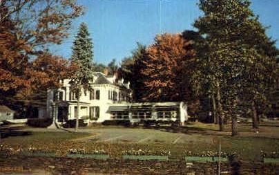 Stone Fence Motel - Brattleboro, Vermont VT Postcard