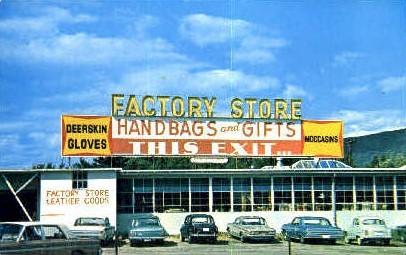Factory Store - Brattleboro, Vermont VT Postcard