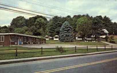West Village Motel - Brattleboro, Vermont VT Postcard