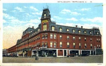 Hotel Brooks - Brattleboro, Vermont VT Postcard
