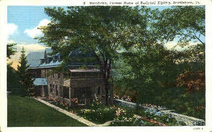 Naulhaka - Brattleboro, Vermont VT Postcard