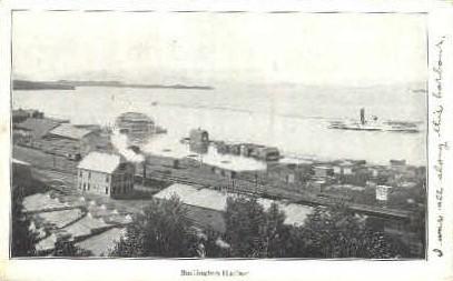 Burlington Harbor - Vermont VT Postcard