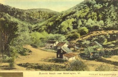 Dunville Notch - Burlington, Vermont VT Postcard